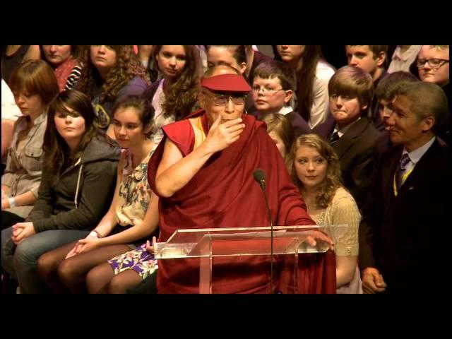 Далай-лама. Стань переменой. Выступление в Шотландии