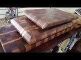 Making a Walnut End Grain cutting board
