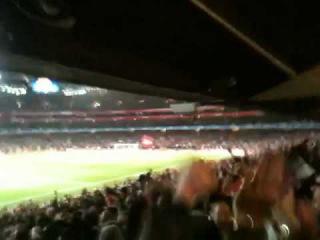 Arshavin Goal - Arsenal v Barcelona (2-1) 17 Feb 2011 - Emirates Stadium - Top and Best Arsenal Goal
