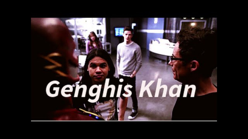 Genghis Khan; a the Flash x Harry/Cisco video (Harrisco)