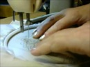 Вышивка юбки гладью в подарок дочери на день рождение Мастер класс Любовь Комиссарова