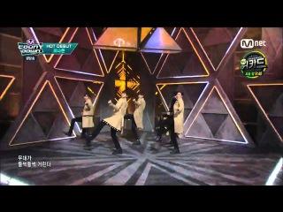 [Debut Stage] 160303 KNK (크나큰) - Knock @ 엠카운트다운 M! Countdown