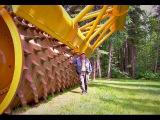 Самая большая лесокрушильная машина в мире