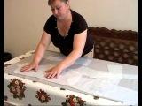 Подготовка ткани и раскрой женского пиджака