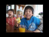 Приход от желтой губки (Спанч Боб - Японская реклама)