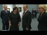 Владимир Путин посетил выставку Серова на Крымском валу