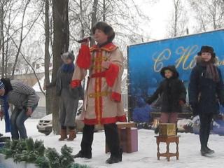 Зима (исп. Константин Е.) выступление в Парке культуры и Отдыха 9.01.16