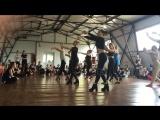 Ksenia Essen on #LadyBomb2016. Choreo by Rimma Osinovskaya