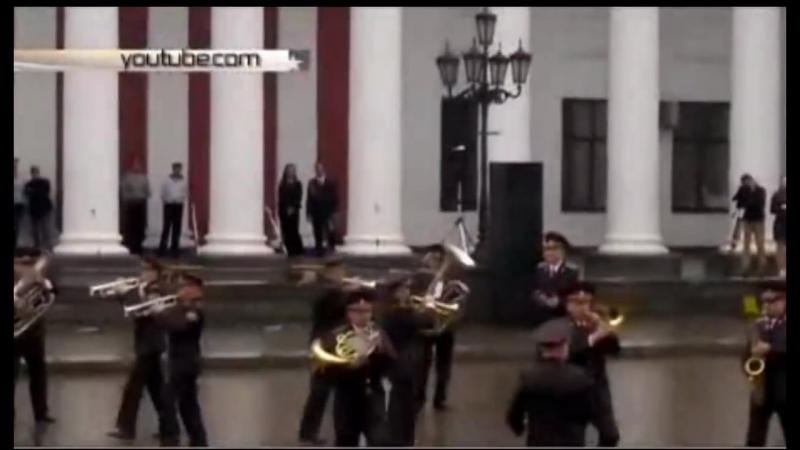 Одесса. Думская. Оркестр Нацгвардии отжигает На лабутенах