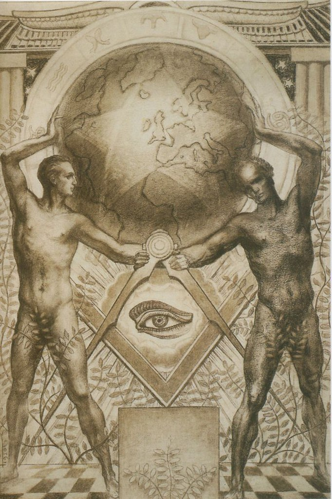 Художник-символист Жан Дельвиль (1867-1953)