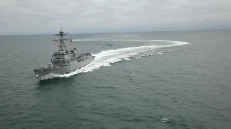 USS Уильям П. Лоуренс (DDG-110) Арли Берк класса ракетный эсминец