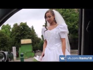 Трахнули русскую невесту по кругу, голые девушки фоткающиеся на телефон