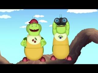 Лунтик и его друзья - 154 серия. Чего хотят гусеницы