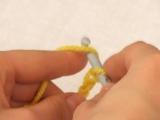 Вязание крючком. Урок 1. (воздушные петли)