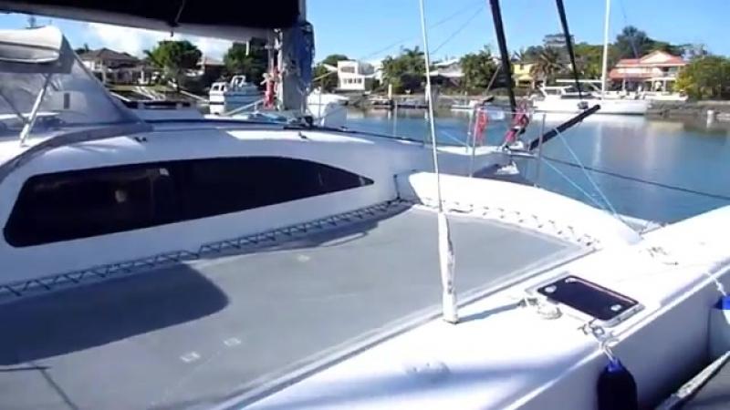 Corsair 36 Trimaran on Moreton Bay