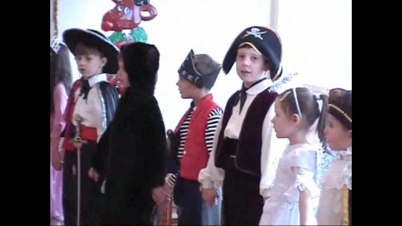 2006 2007 Новый год утренник
