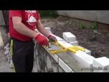 Тестируем набор Каменщика Кирпич - приспособление для кладки кирпича 1-я часть- [masterkladki]