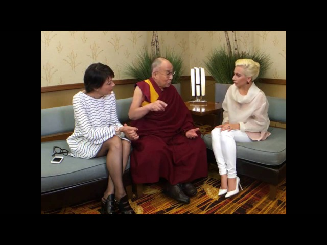 Далай-лама. Интервью Леди Гаге на фейсбуке