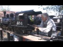Firing up and running the DRG K-27 2 1/2 scale live steam model