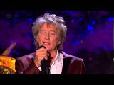 Rod Stewart - White Christmas - with Nicola Benedetti (live) (HD) - YouTube