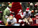 Nerd raps to Santa Claus Futuristic and BigDaws