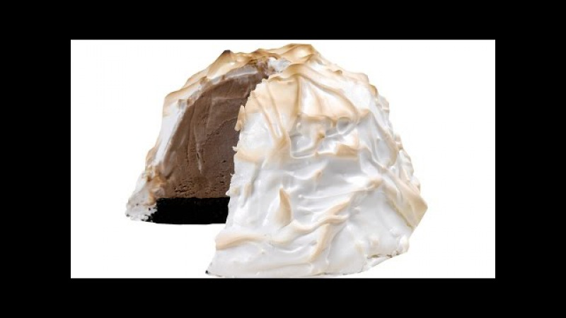 Десерт Запечённая Аляска Лучший десерт из мороженого и безе Подробное видео