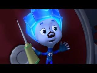 Развивающие Мультфильмы для детей от 3 лет на русском. Фиксики - Ремонтируем зонт. Смотреть мультики