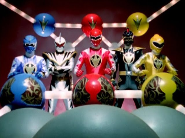 Power Rangers Dino Thunder - All Megazord Fights
