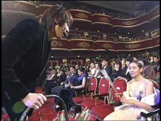 Bi Rain 2004 3rd Korea Film Awards(It's Raining I Do)(2004.12.05)