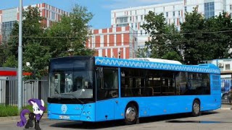 Поездка на автобусе МАЗ-203.069 М 105 ТЕ 777 Маршрут № 704к Москва