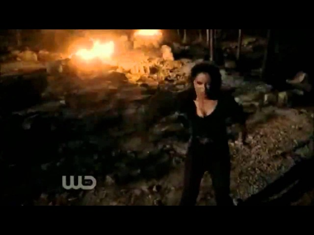 Vampire Diaries 2x21 - Bonnie fights with Klaus