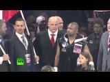 Боксер Рой Джонс, получивший гражданство РФ, проиграл британцу Энцо Маккаринелли. 13.12.2015.