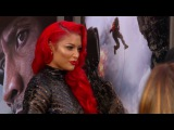 SexY cloak room DIVAS TOPLESS BIKINI EVE MARIE  WWE 720p 2016