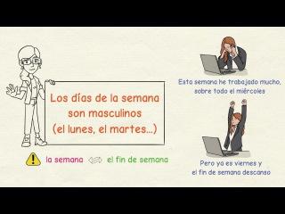 Aprender español: Mejora tu español con mis consejos de la semana (4)