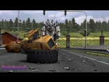 Euro Truck Simulator - 2 Scania VS Western Star - Peterbilt 4964EX