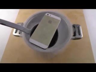 Экспериментатор. iPhone 5S и жидкий азот
