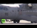 Тело Российского пилота Су-24 доставили в Анкару.