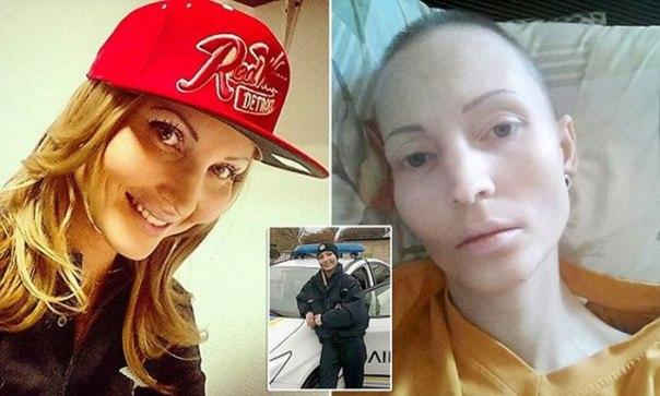 В Киеве девушка-полицейский умерла от плевка в лицо