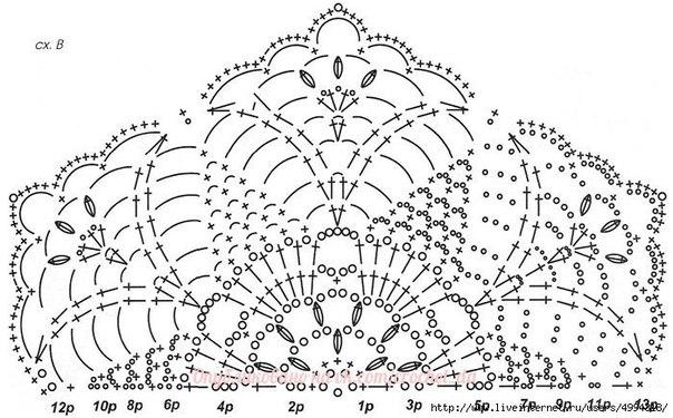 Вязание крючком ажурных шестигранников