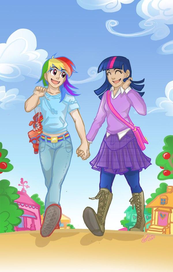 Эквестрия секретные поцелуи (Equestria Girls Kiss)