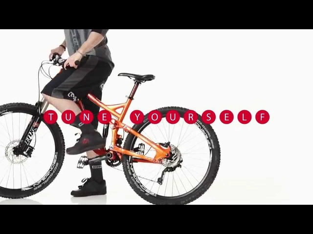 Fun exercise and training for mountain bikers with the bike balance board by TOGU
