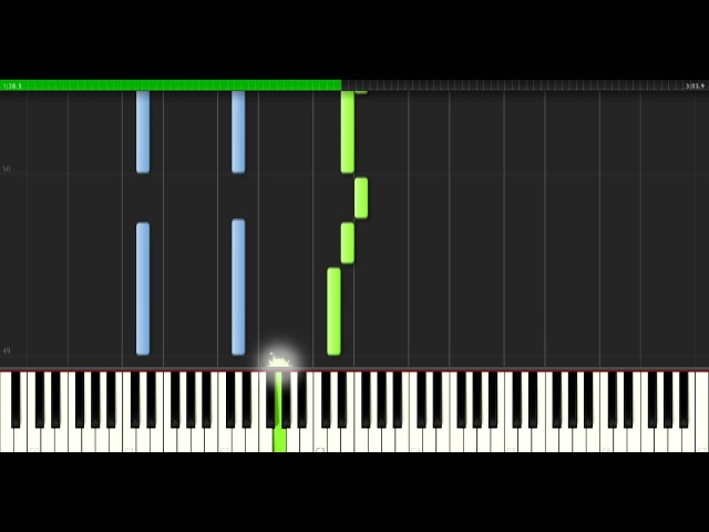 The Doctors Hell (Same Old Day) - Doctor Who [Synthesia Tutorial]