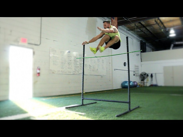 Top 10 Vertical Drills [1 Hurdle Jump]   Overtime Athletes