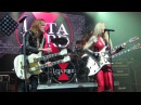 Lita Ford Lzzy Hale Close My Eyes Forever Live @ Webster Hall