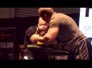 FitX 2013 - John Brzenk $1000 Arm Wrestling Challenge Vs Lars Rørbakken