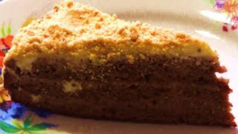 ТОРТ НА СГУЩЁНКЕ Как приготовить торт на сгущенном молоке
