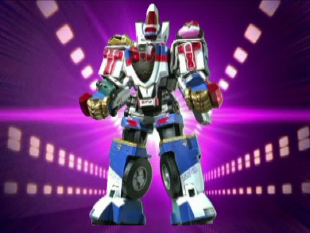 Power Rangers S.P.D. - All Megazord Transformations and Finishers.