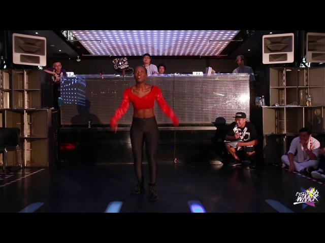 Judge Demo - Ebony(Foret Noiret/Canada) | 20160730 台灣街舞節【女力 x Cest La WAACK】