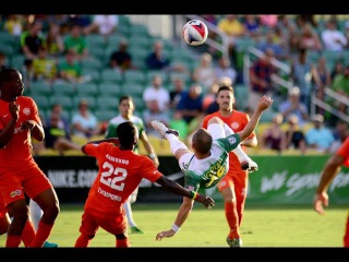 Incredible Joe Cole bicycle-kick goal! Tampa Bay Rowdies 3-0 Puerto Rico FC | 16/07/2017
