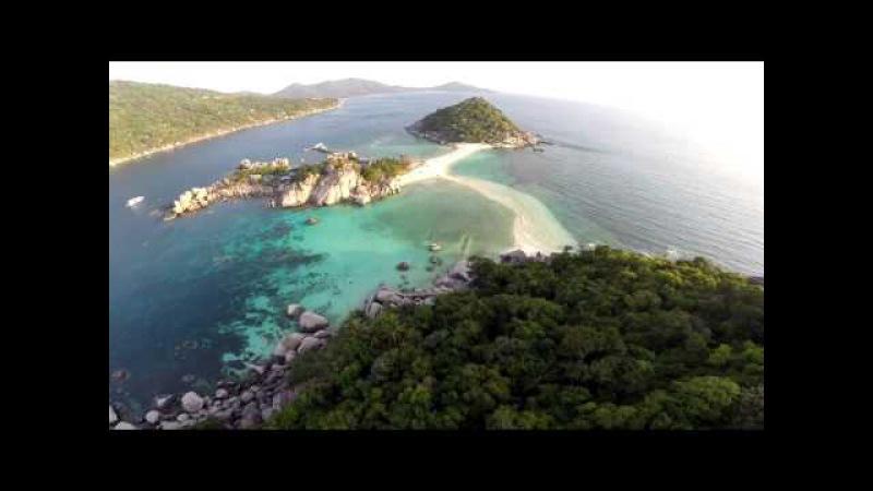 Koh Nangyuan by Drone (เกาะนางยวน)